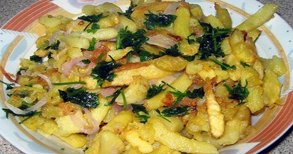 Pontian Fried Potatoes